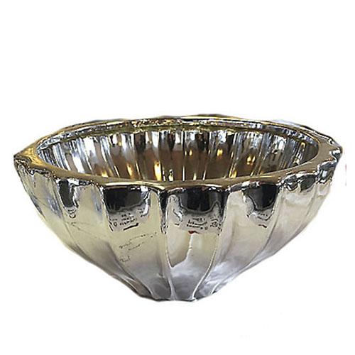 Blank skål mellem størrelse