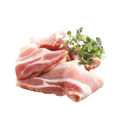 Røget bacon i skiver
