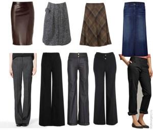 Как красиво выглядеть: стильные юбки и брюки