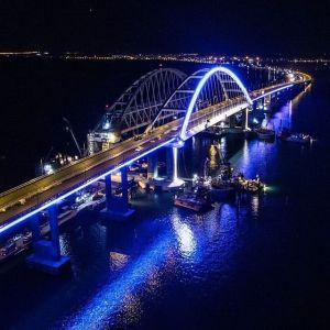 Крымский мост. Открытие. Мост через Керчь