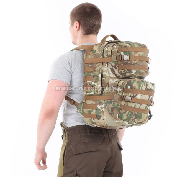 Assault Backpack KE Multicam with Coyote slings for sale