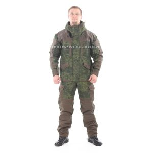 Gorka-5 suit EMP 'digit' with fleece removable lining, olive on sale