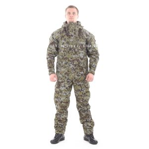 "Gorka-5 suit in ""tsifra-2"" 'digital-2' with fleece removable lining on sale"