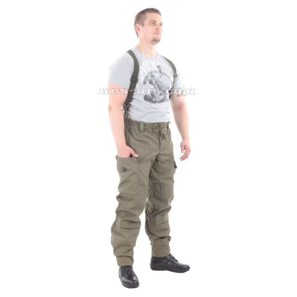 Original Gorka-5 suit in Olive with fleece removable lining on sale