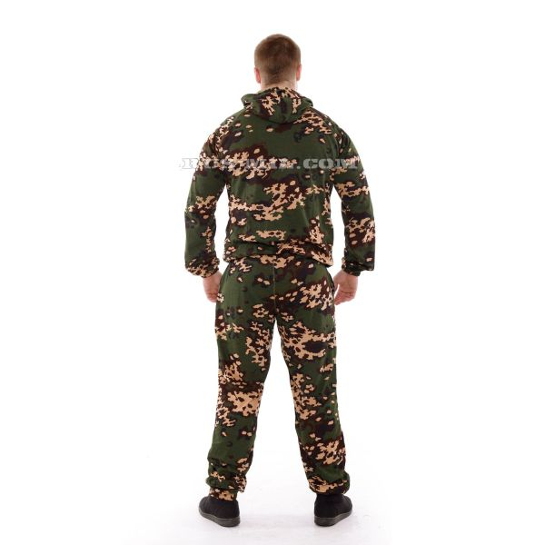Russian knitted Suit in Partisan Colour on sale