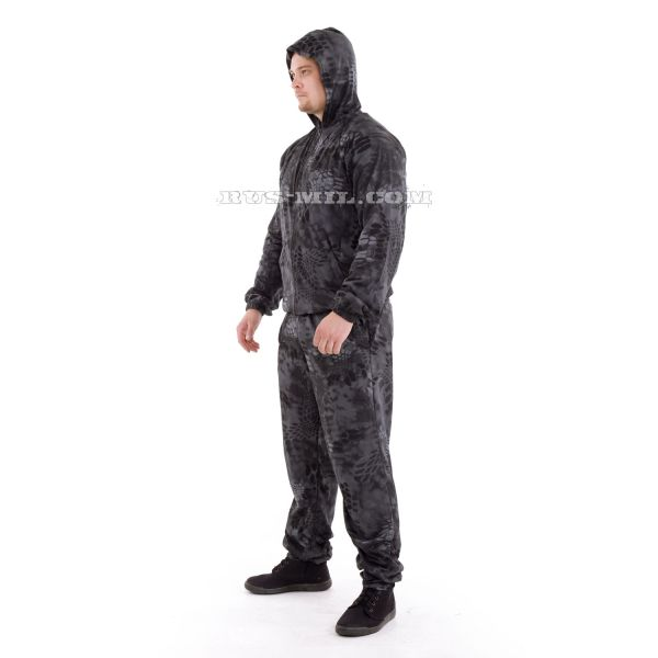 Russian knitted Suit in Typhon Colour
