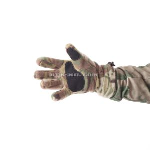 Gloves Keotica fleece in color Multicam