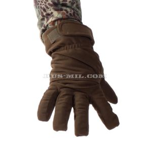 Gloves Keotica membrane on fleece Dark Olive