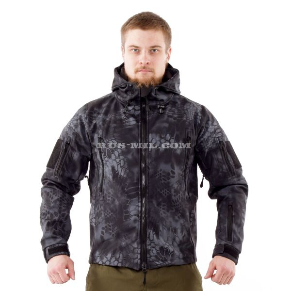Jacket from the membrane Softshell color Typhon