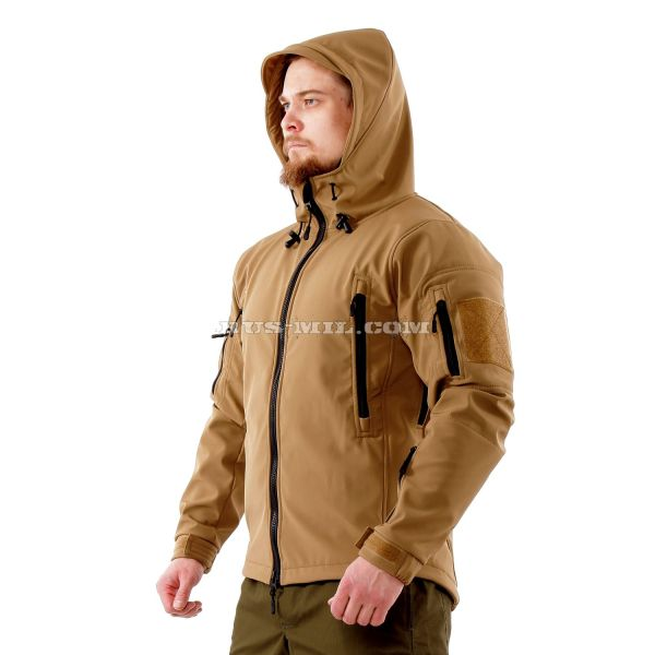 buy Jacket from the membrane Softshell color Coyote