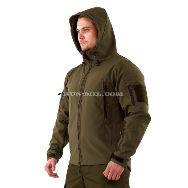 buy Jacket from the membrane Softshell color Olive
