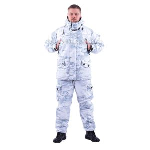 membrane fleece lined Gorka suit in multicam alpine