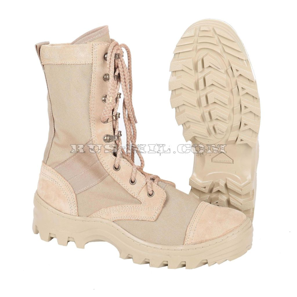 Russian army Boots Garsing Sahara m. 355 P (m. 35 P) sand at low price