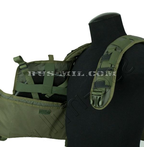 """Brest"" molle olive chest rig sposn"