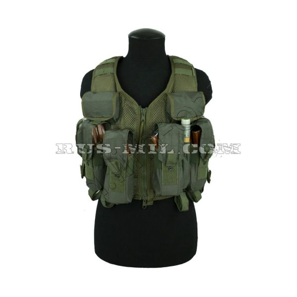 """lorika"" tactical vest sposn olive"