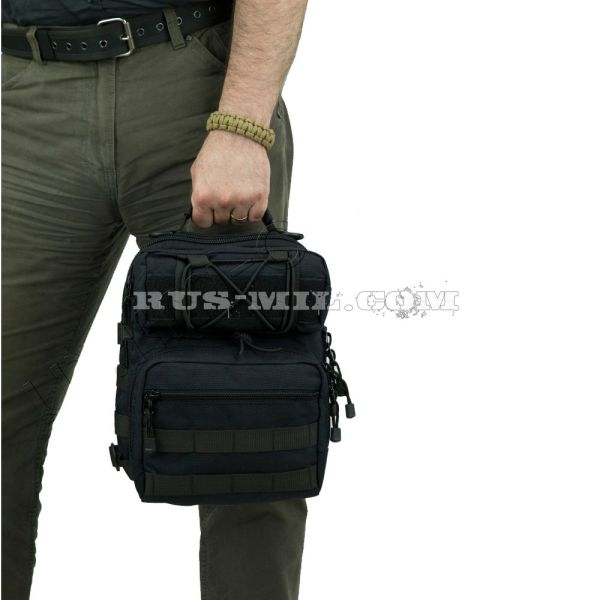 buy Max pro shoulder bag sso sposn black pattern