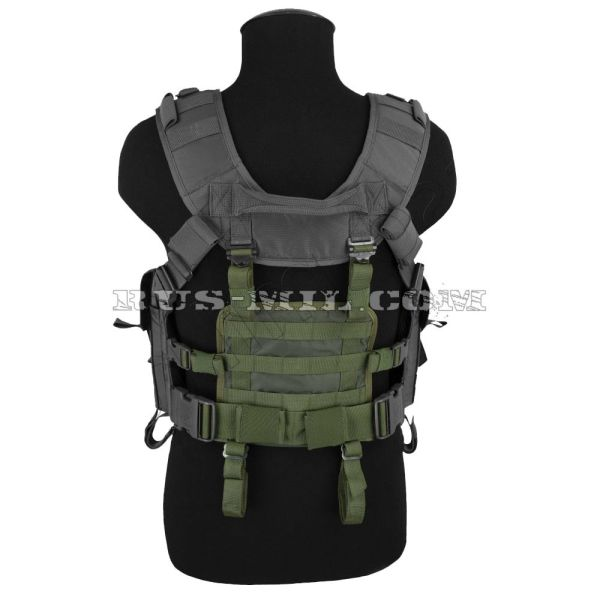Molle small panel olive