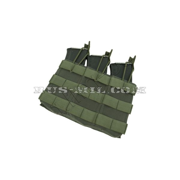 АКМ 3 molle pouch olive color