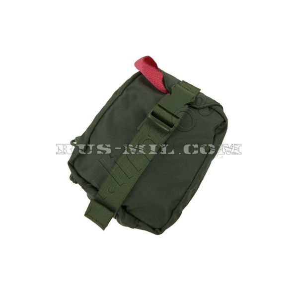 First-aid kit molle tear-off pouch olive