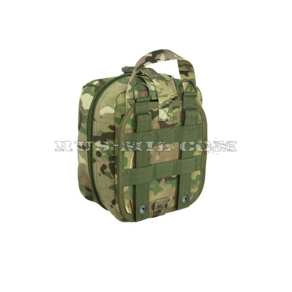 First-aid molle big pouch multicam back