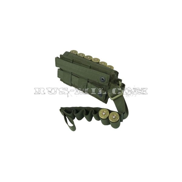 PP-12 molle pouch for 12 rounds of 12th caliber