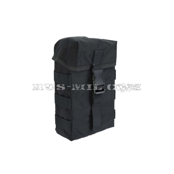 SM 2 molle pouch black back