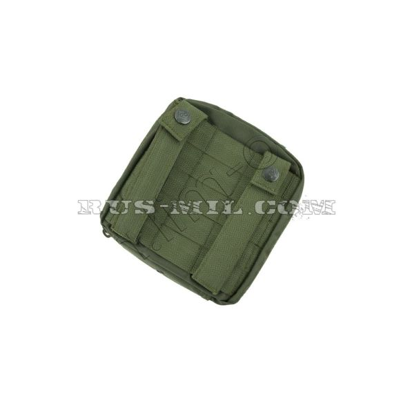 Tablet molle pouch olive back