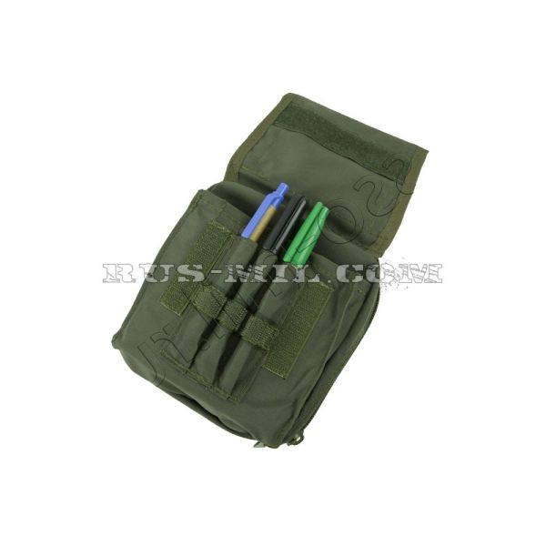 Tablet molle pouch olive pattern