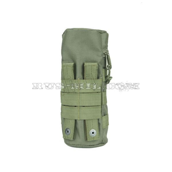 Universal bottle molle pouch olive back