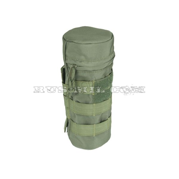 Universal bottle molle pouch olive