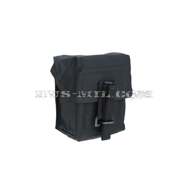 VSS 2 molle silent pouch for 2 mags black