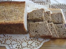 Buckwheat bread