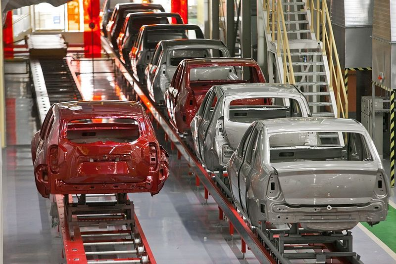 Car production in Russia 2017 - Automobile production
