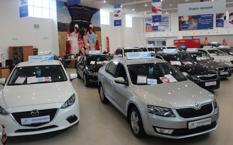 Russian used cars market 1