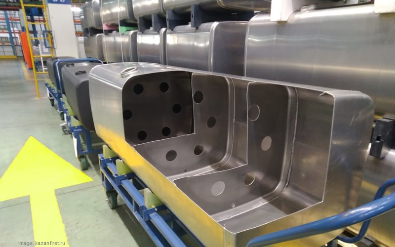 KAMAZ has launched the production of aluminium fuel tanks 2019
