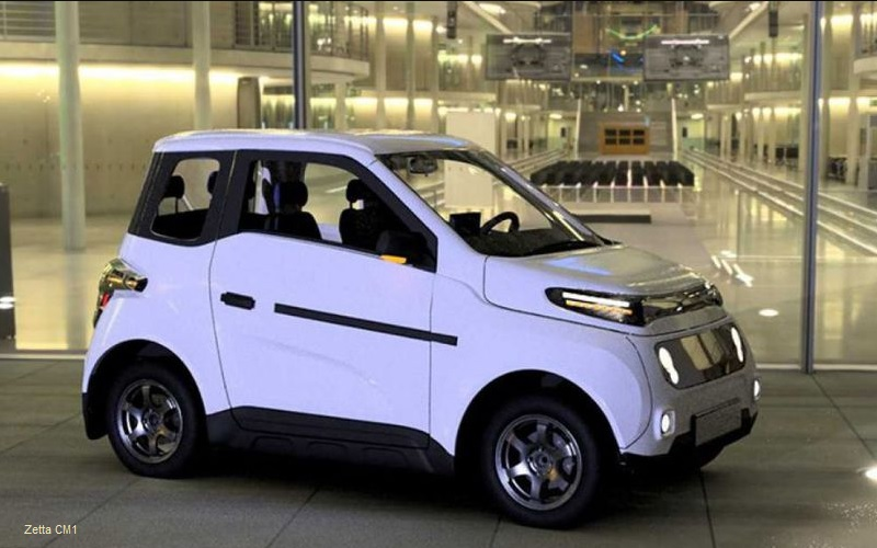 Russian electric car Zetta CM1
