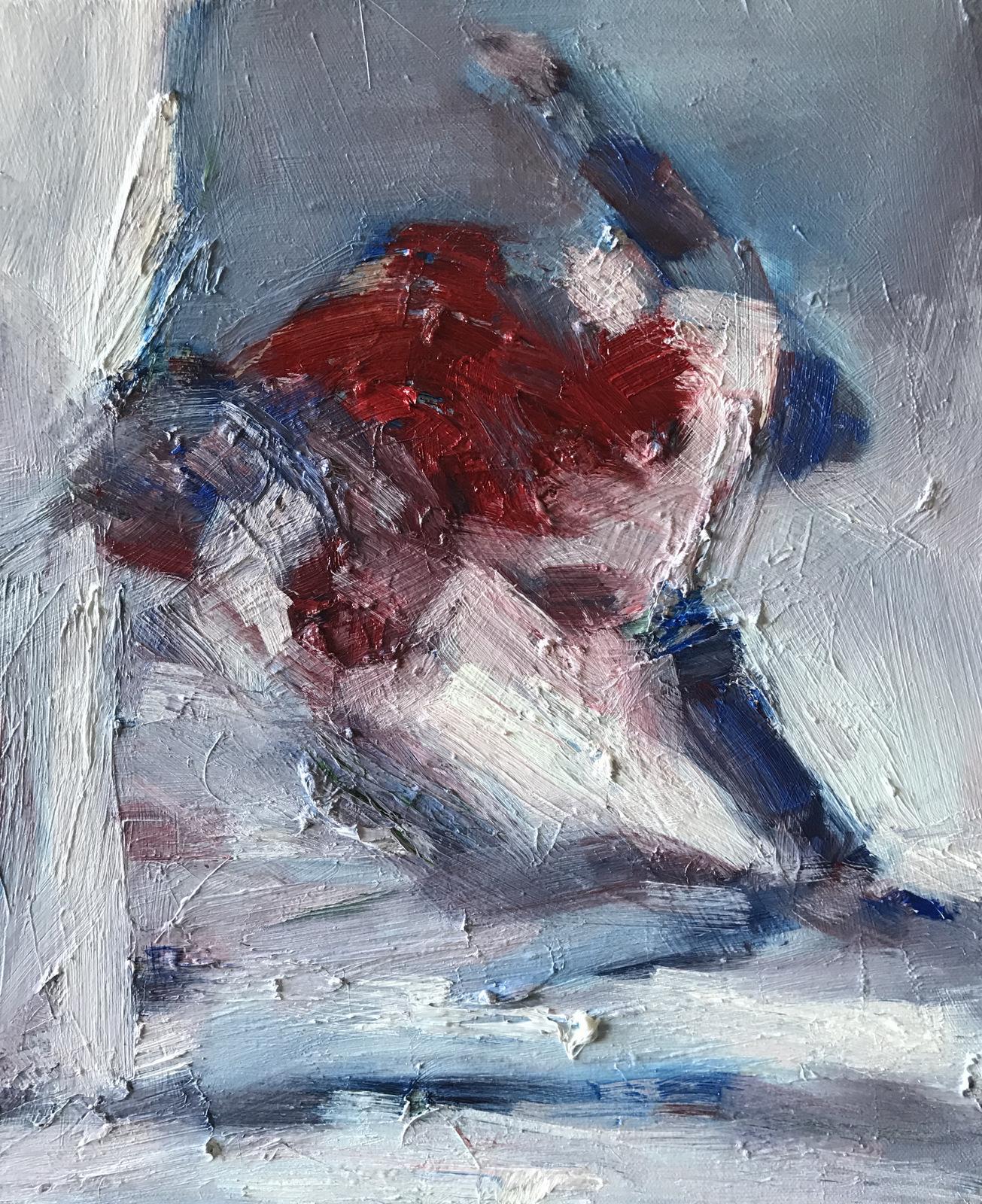 Art contemporain, sensualisme, peinture à l'huile, Oil Painting, Contemporary painting, #contemporaryart
