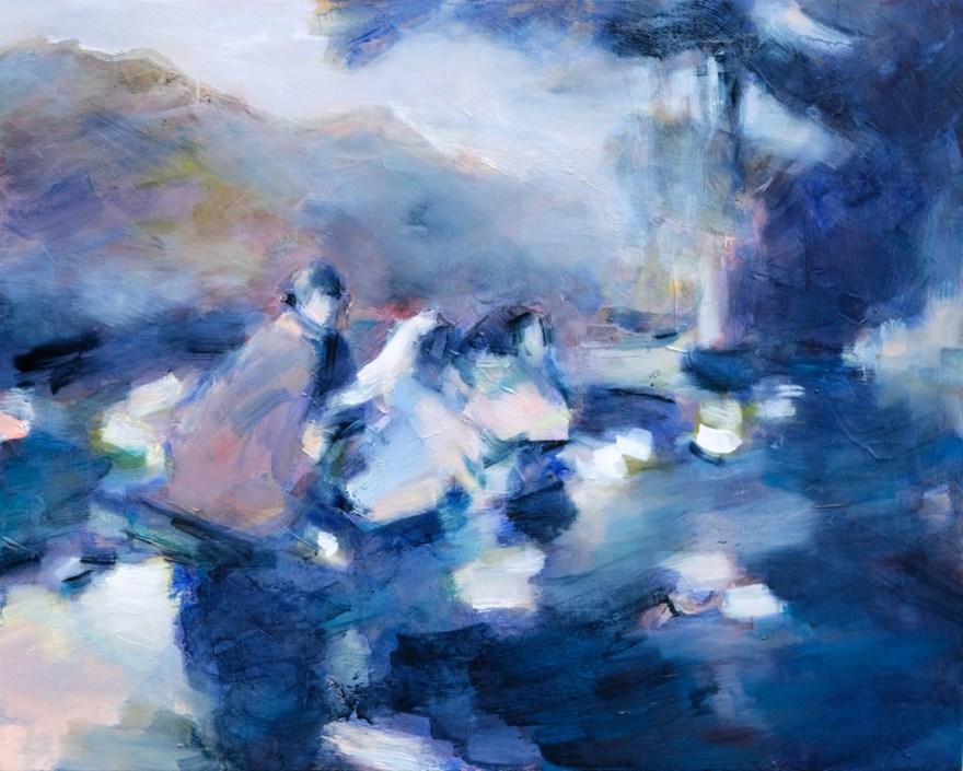 Art contemporain, sensualisme, peuples autochtones, native americans, peinture à l'huile, Oil Painting, Contemporary painting, #contemporaryart