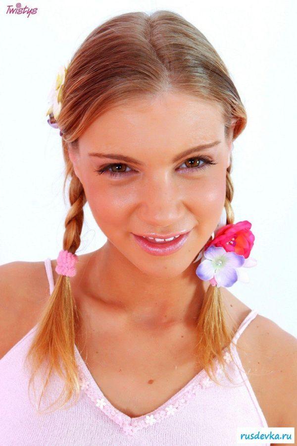 Розовые мечты и пухлые щечки красавицы
