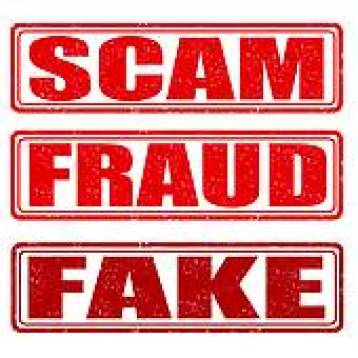 scam, fraud, fake, disaster fraud image