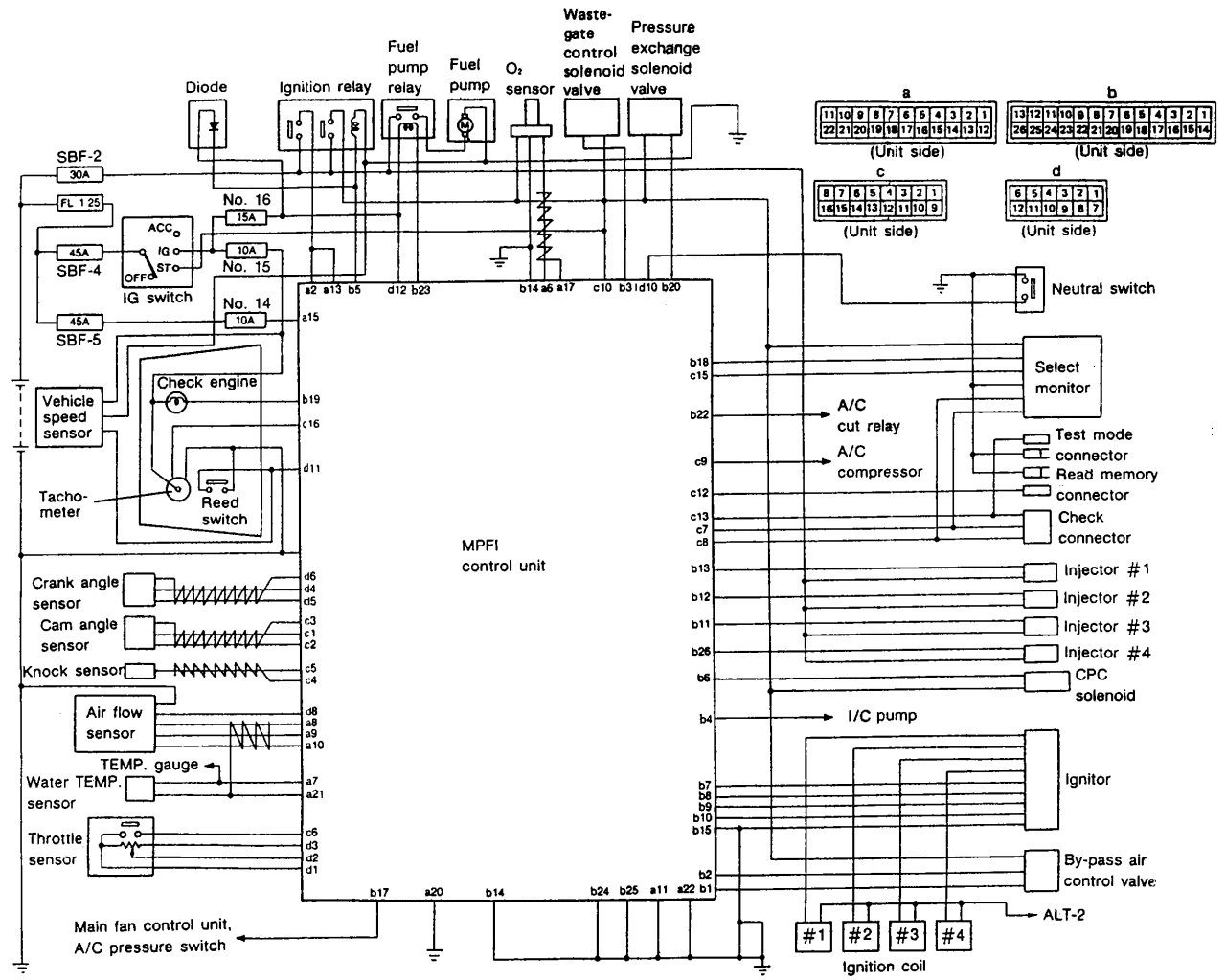 Honda Accord Electrical Schematics Honda Wiring