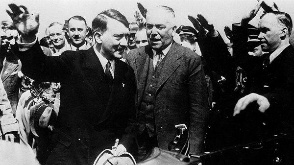 Встреча Сталина и Гитлера во Львове | rusfact.ru