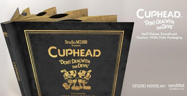 Cover - Cuphead 4xLP Deluxe Soundtrack