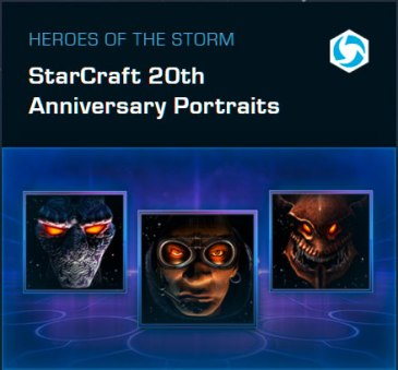 Heroes of the Storm - drei Jubiläums-Portraits