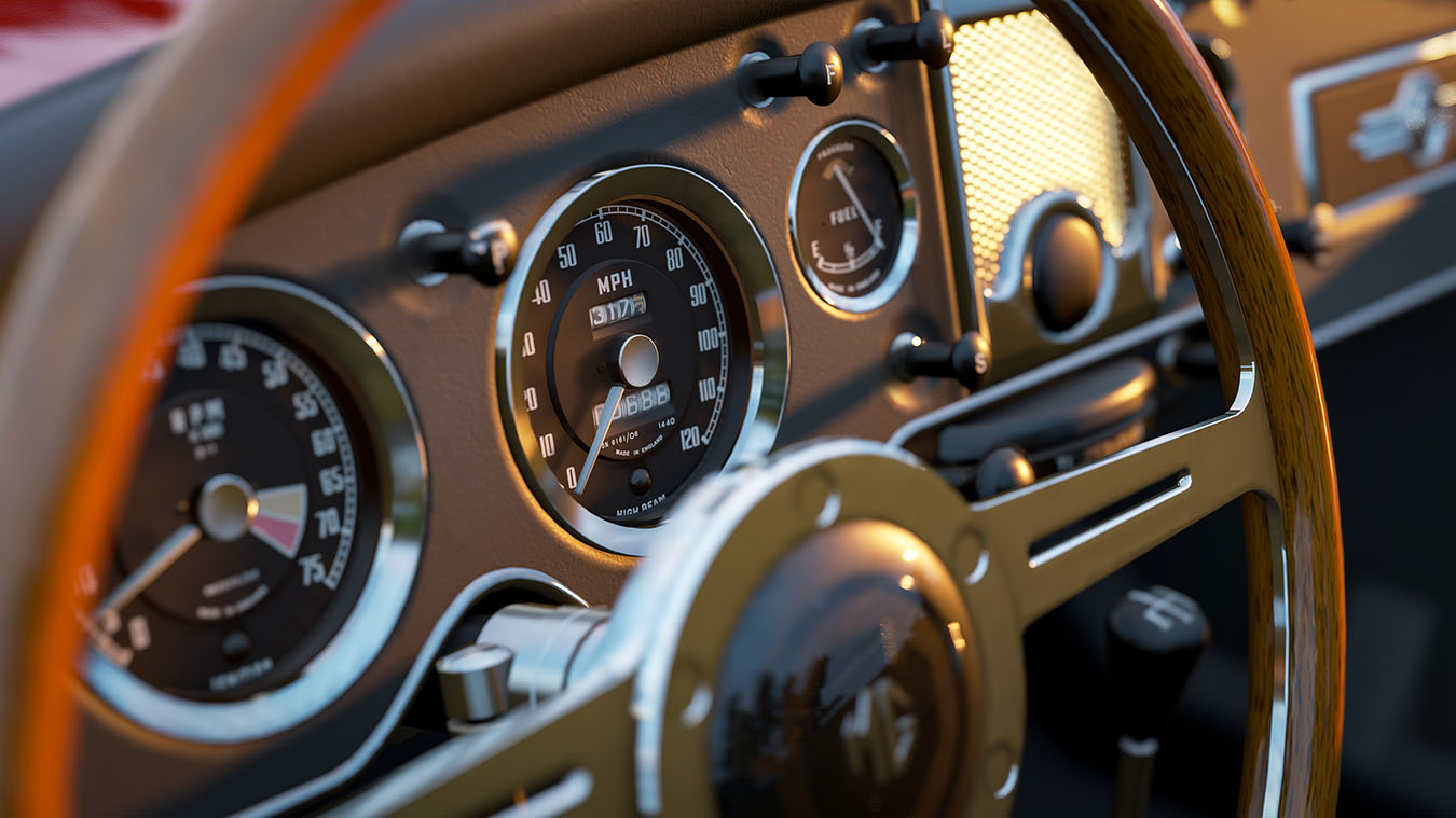 Forza Horizon 4 - Detailreiches Interior