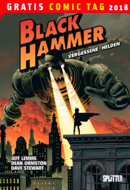 Gratis Comic Tag 2018 - Black Hammer Cover