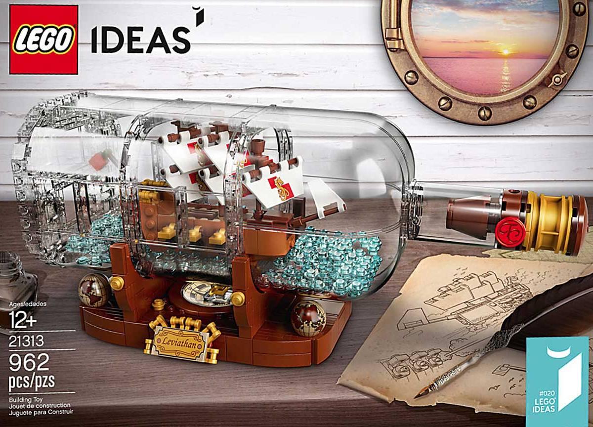 LEGO IDEAS - Schiff in der Flasche