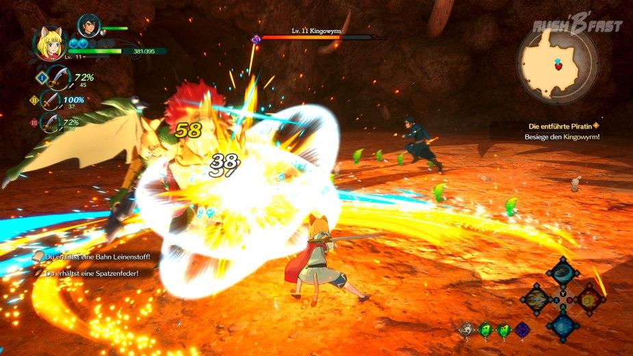 Ni No Kuni 2 Echtzeit Kampfsystem