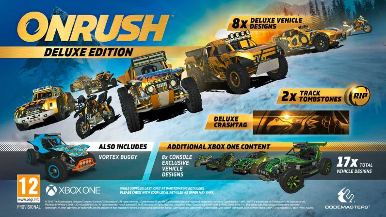 Onrush Deluxe Editionen - Xbox One