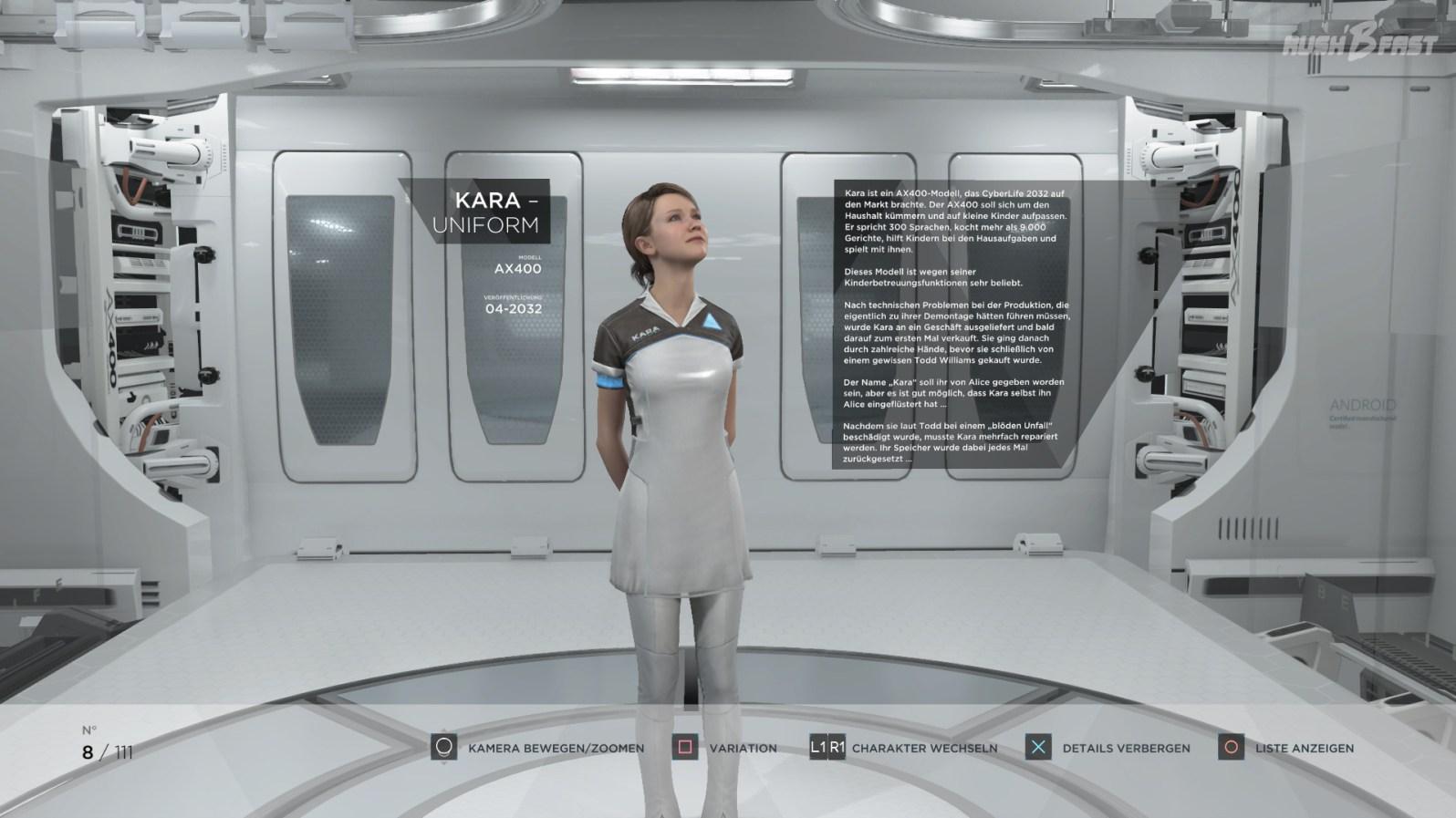 Kara - Modell: AX400